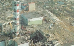 The Nuclear Power Plant Explosion in Chernobyl, Russia